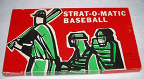 Ultimate Strat Baseball Newsletter SOM Game Box